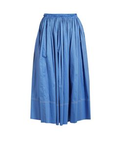 KHAITE | Celia Gathe Skirt