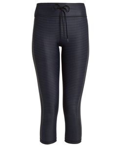 THE UPSIDE | Nyc Night Stripe-Print Performance Leggings
