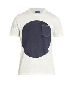 Blue Blue Japan | Circle-Print Cotton T-Shirt