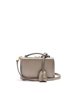 Mark Cross | Grace Mini Saffiano-Leather Box Bag