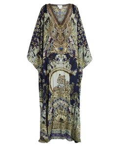 Camilla | A Little Past Twilight-Print Silk Kaftan