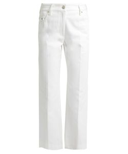 Calvin Klein Collection | Frey Straight-Leg Cropped Jeans