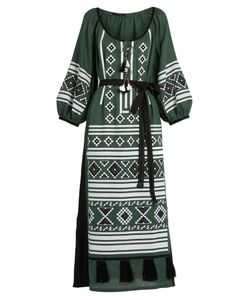 Vita Kin | Croatia Embroidered Linen Dress