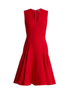 Alexander McQueen | Sleeveless Wool And Silk-Blend Dress