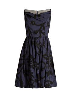 Vivienne Westwood Anglomania | Twisted Monroe Printed Skater Dress