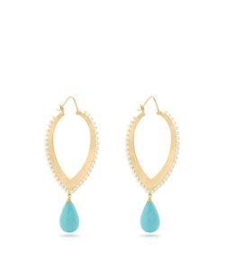 IRENE NEUWIRTH | Turquoise Pearl Earrings