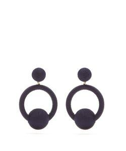 Rebecca De Ravenel | Kate Hoop-Drop Earrings