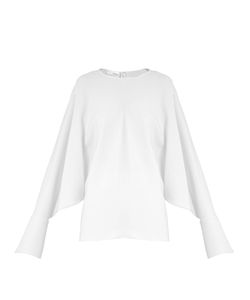 Stella Mccartney | Marion Split-Sleeve Cady Top