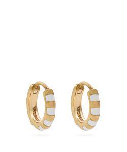 MARC ALARY | Enamel Earrings
