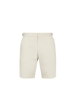 Orlebar Brown   Norwich Mid-Length Cotton Shorts