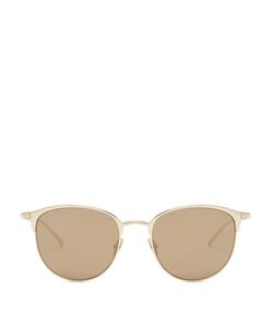 Saint Laurent | D-Frame Mirrored Sunglasses