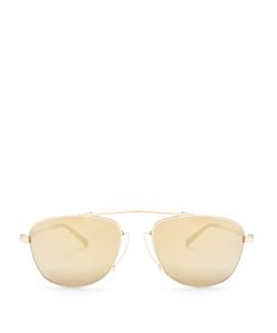 Matsuda   Aviator-Frame Sunglasses