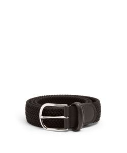 ANDERSON'S | Woven Solid Belt