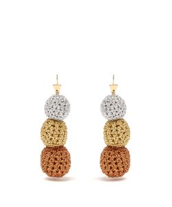 LUCY FOLK | Rock Steady Crochet Earrings