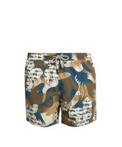 Etro | Military-Print Swim Shorts