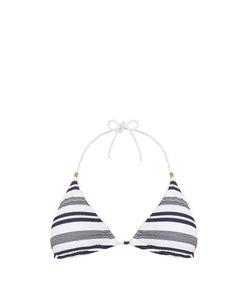 Heidi Klein | Marthas Vineyard Striped Halterneck Bikini Top