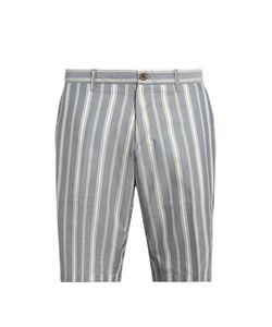 J.W. Brine | Striped Cotton Shorts