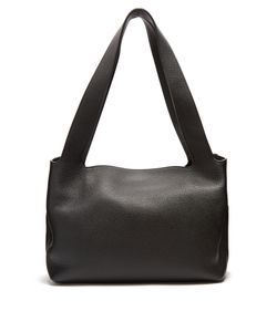 The Row | Duplex Grained-Leather Small Shoulder Bag