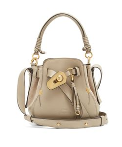 Chloe | Owen Small And Suede Shoulder Bag