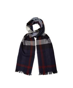 Burberry | Checked Wool And Cashmere-Blend Scarf