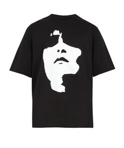 Neil Barrett | Face-Print Cotton T-Shirt