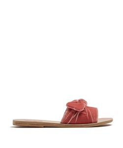 ANCIENT GREEK SANDALS | Taygete Velvet Slides