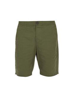 Oliver Spencer   Straight-Leg Cotton-Canvas Shorts