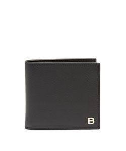 Balenciaga | Logo-Plaque Bi-Fold Leather Wallet
