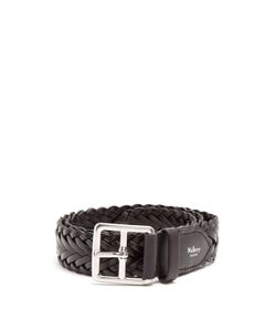 Mulberry | Woven-Leather Belt