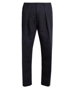Tomorrowland | Drawstring Cotton Straight-Leg Trousers
