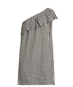 Velvet by Graham & Spencer | Virgie One-Shoulder Gingham Dress