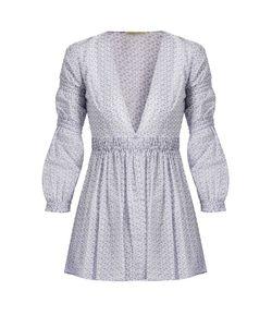 Emilia Wickstead | Jasmin Ditsy-Print Cotton-Voile Top