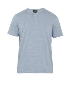 A.P.C. | Eric Striped Cotton-Jersey T-Shirt