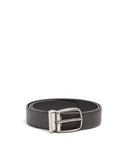 Dolce & Gabbana | Grained-Leather Belt
