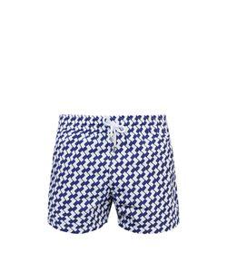 FRESCOBOL CARIOCA | Sports Leme-Print Swim Shorts