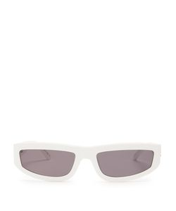 Stella Mccartney   Rectangle-Frame Acetate Sunglasses