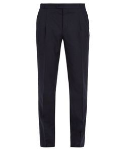 Thom Sweeney | Brook Slim-Leg Wool And Cashmere-Blend Trousers