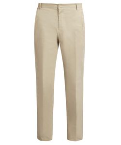 Wooyoungmi | Slim-Fit Cotton-Twill Trousers