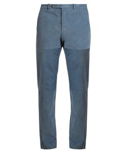 HELBERS | Needlecord-Cotton Chino Trousers