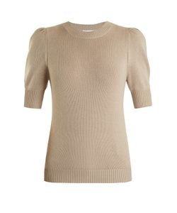 Chloe | Iconic Puff-Sleeved Cashmere Sweater