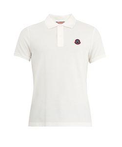 Moncler | Logo-Appliqué Cotton-Piqué Polo Shirt