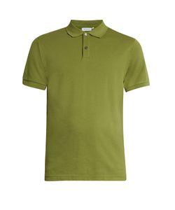 Sunspel | Cotton-Piqué Polo Shirt