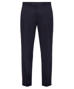 Gucci | Side-Stripe Cotton Trousers