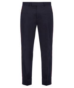 Gucci | Side-Stripe Cotton Trousers