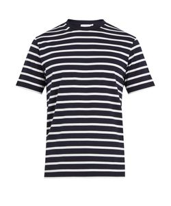 Sunspel | Striped Cotton-Jersey T-Shirt