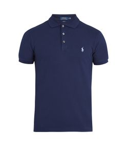 Polo Ralph Lauren | Logo-Embroidered Stretch-Cotton Piqué Polo Shirt