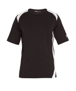 Y-3 | Y-Panel Cotton T-Shirt