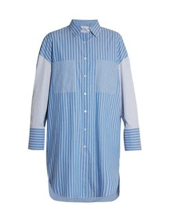 Golden Goose | Long-Line Striped Shirt