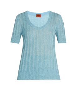 Missoni | Scoop-Neck Ribbed-Knit Top