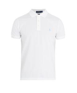 Polo Ralph Lauren | Logo-Embroidered Stretch-Cotton Piqué Polo Shirt